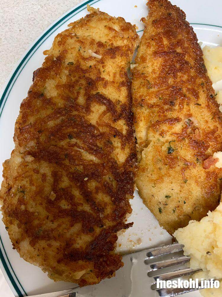 Baked Parmesan Chicken Tenders
